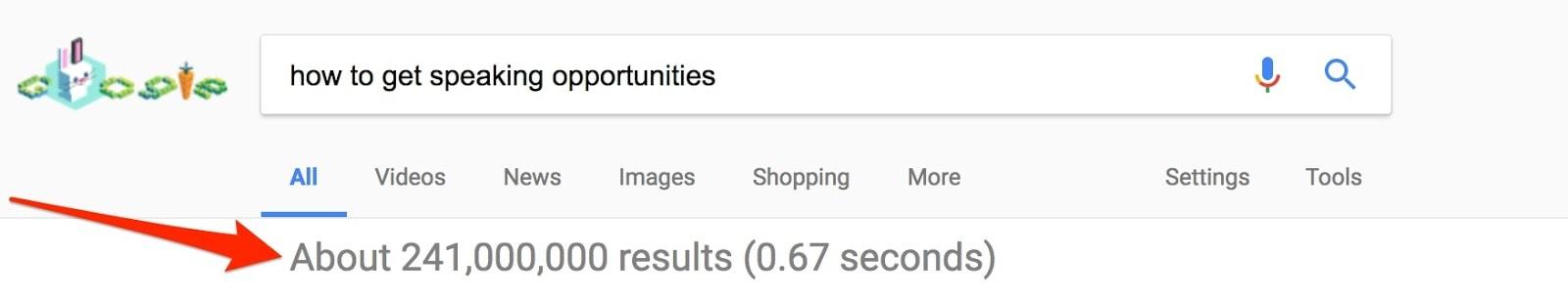 googlehowtogetspeakingopportunities