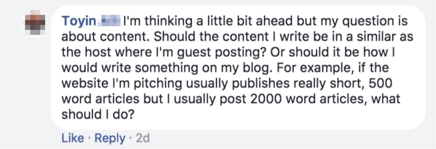guest blog article format