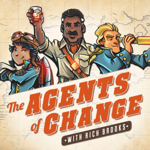 guest appearance at agents of change podcast