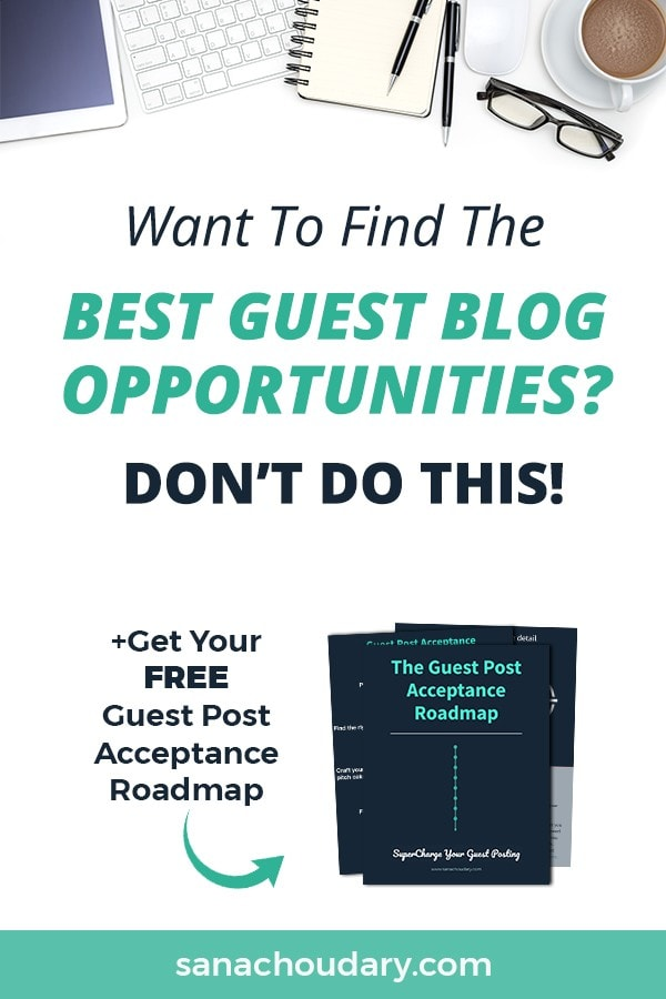 Finding the best guest blog opportunity for you