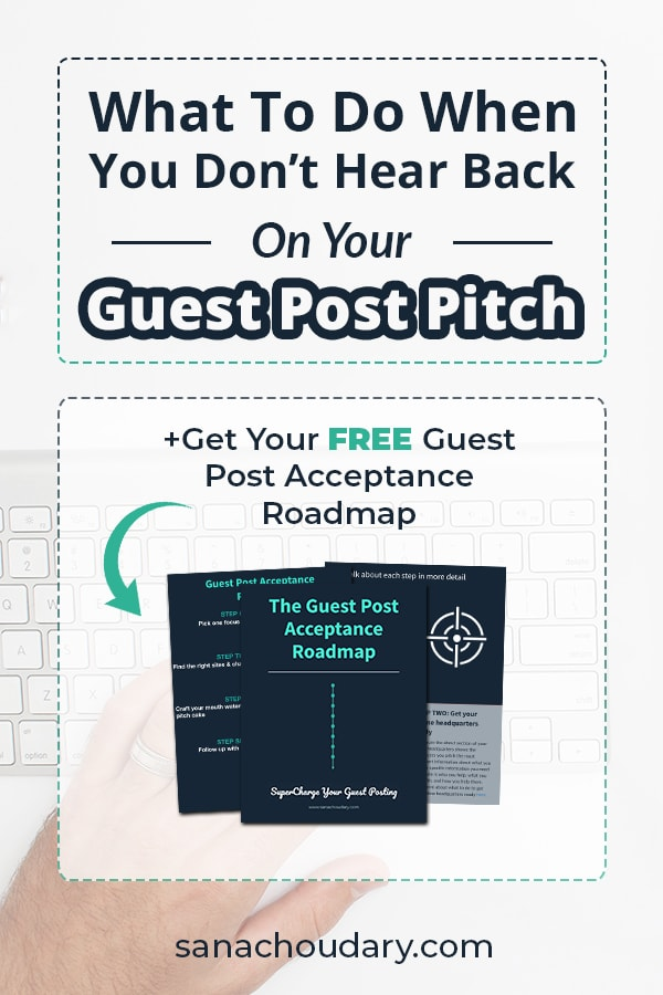 Sent a guest post request but never heard back? HERE is what to do