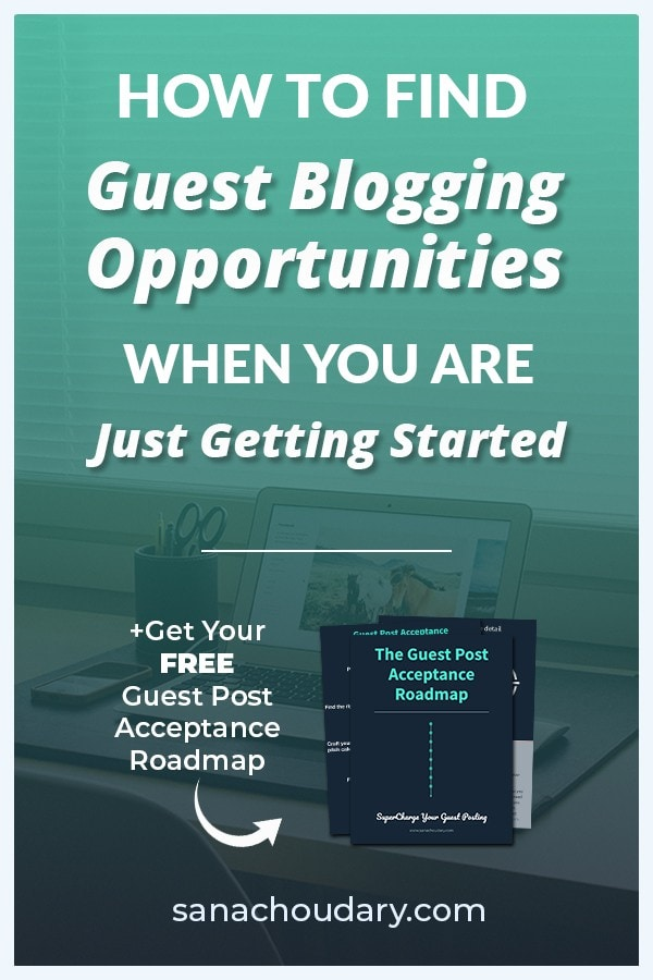 Struggling to find guest blogging opportunities?