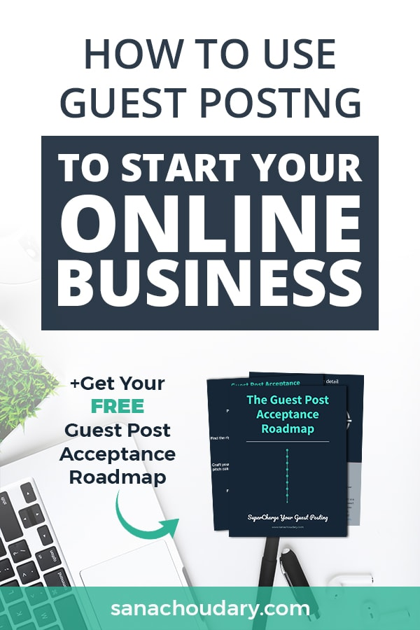 How to use guest post writing to start your online business
