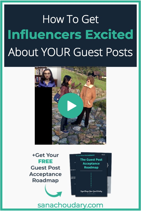 Getting Influencers Excited About Your Guest Posts
