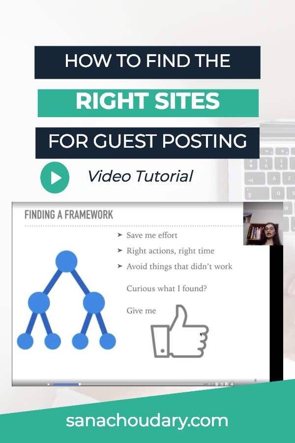 How I find the Right Sites for Guest Posting and how you can steal it to find >14 sites in