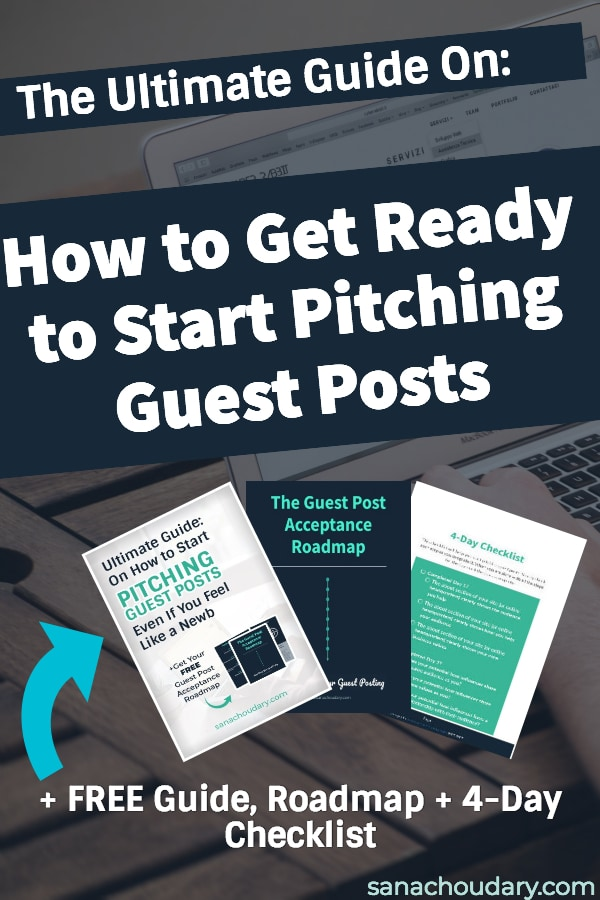 Ultimate guide on how to get ready to start pitching guest posts