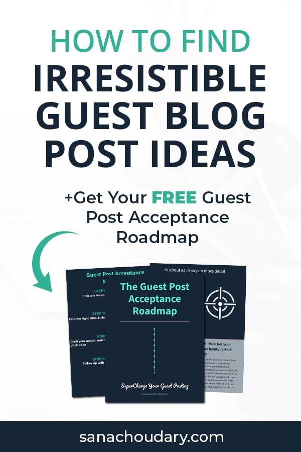 guest blog post ideas