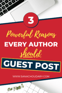 Reasons every author should guest post